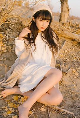 清纯系美女之应沙漠旅拍写真集锦
