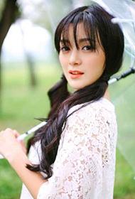 中国女星王瑞子小清新户外写真