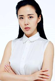 颜丹晨性感白衬衫写真