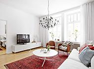 小客厅北欧质朴装修效果图