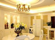 温馨美式120平三居室装修图