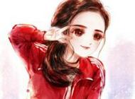 可爱超萌的杨幂卡通qq头像
