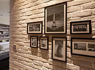 欧式石膏照片墙装修效果图