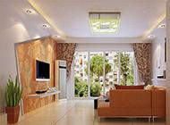素雅风潮欧式客厅设计效果图