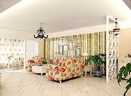 小户型田园温馨客厅装修图片