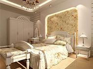 浪漫纯真的欧式卧室装修效果图