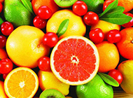 刚洗好的各种新鲜水果图片