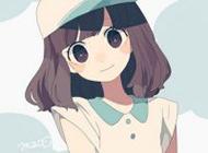 唯美粉色甜美女生卡通头像