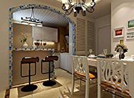 温馨舒适的厨房地中海装修效果图