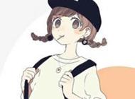 欧美风卡通个性女生头像图片