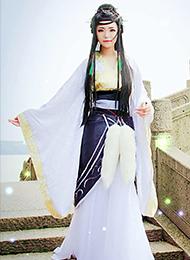 汉服美女cosplay写真图