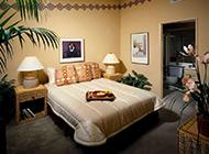 舒适精简后现代卧室设计效果图