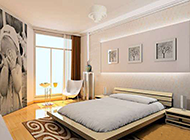 小户型卧室简约个性装修效果图