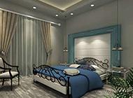 浪漫地中海风格卧室装修设计