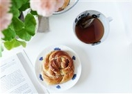 面包图片 面包和茶图片