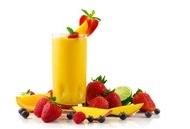 维C果汁图片 新鲜水果与果汁图片