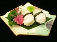 日式寿司图片大  韩式 象牙贝寿司美食图片大全