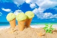夏日水果冰淇淋