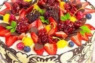 生日派对蛋糕图好吃的生日的蛋糕图片