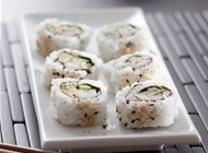 三文鱼握寿司图片 美味的三文鱼寿司高清精选大图