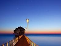 蔚蓝的海岸