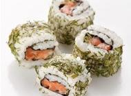 三文鱼寿司高清图片大全 三文鱼寿司近景特写摄影高清图片