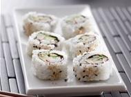 炙烤三文鱼寿司图片 美味的三文鱼寿司高清图片