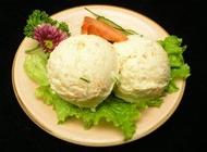 沙拉图片 土豆泥沙拉凉菜美食素材图片