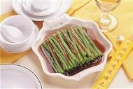 家乡豆角凉菜系列美食素材图片