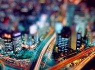 唯美摄影绚烂的城市夜景电脑桌面壁纸下载