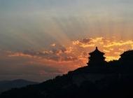 日落万寿山
