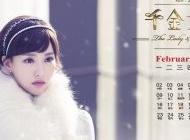2015年2月日历电视剧千金女贼唐嫣唯美剧照高清桌面壁纸下载