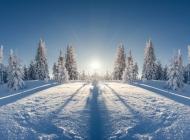 北方农村雪景图片 北方山林雪景高清图片大全