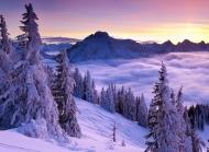 高清雪景图片大全 唯美高清雪景电脑壁纸图片