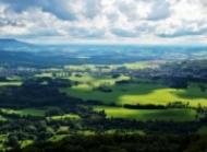 山水田园风光图片 美丽的山水田园风光图片