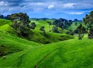 田野风景图片 田野牧场自然风景图片