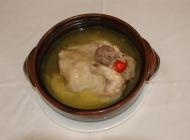 土鸡钵中式菜品美食素材图片