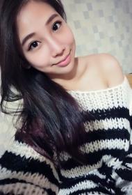台湾美女谢妃妃私房美照笑容迷人