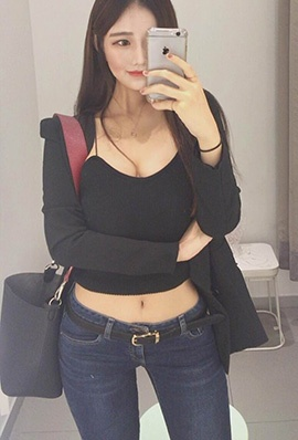 韩国美女模特heex.x自拍私房照优雅迷人