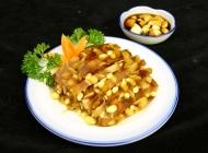 皮冻黄豆凉菜系列美食素材图片