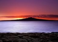美丽海边风景图片大全 美丽的海边日落自然风景图片