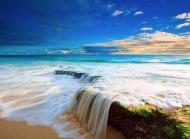美丽的大海风景桌面壁纸