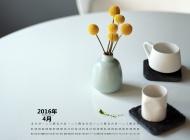 精美简约的茶具高清壁纸