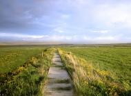 通往幸福之路高清风景桌面壁纸