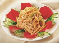葱拌羊肚凉菜系列美食素材图片