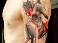 法国 Klaim Street Tattoo 手臂纹身新作