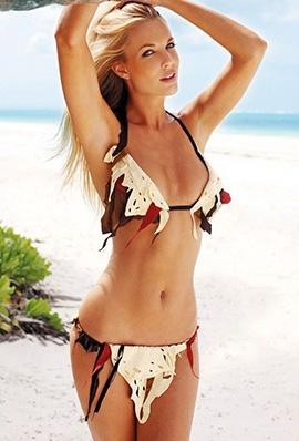 比基尼美女Lyndall Jarvis沙滩性感写真