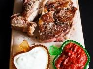 诱人美食烤肉高清图片