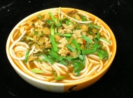 小锅米线 主食小吃美食素材图片