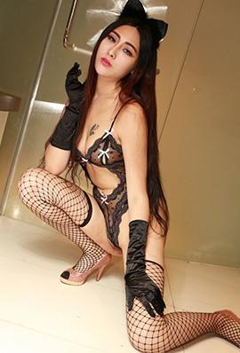 大尺度美女人体艺术 妖艳美女孟狐狸魔鬼身材大尺度人体艺术诱惑图